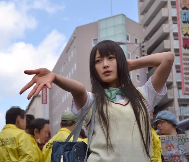 御伽ねこむ Nekomu Otogi School Girl Images 05