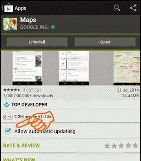 Cara Nonaktifkan Update Otomatis Aplikasi Dan Game Di Android