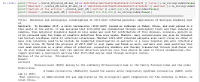 COVID19: Question-Answering Model using BioSentVec Embedding 5