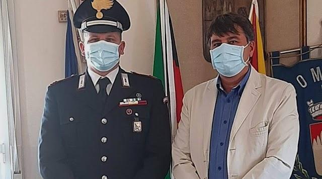 Siculiana, sicurezza: il sindaco incontra il comandante della stazione dei carabinieri