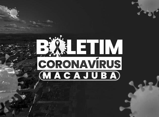Coronavírus: Boletim desta segunda registra mais um óbito em Macajuba