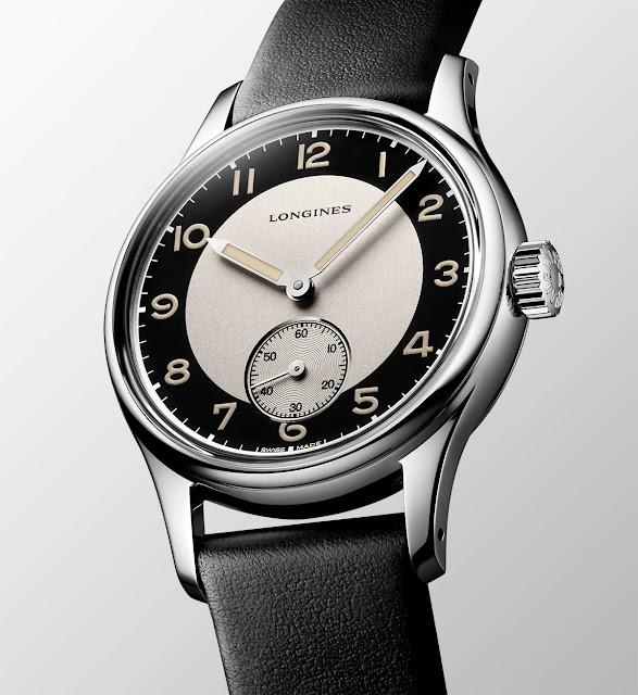 Longines Heritage Classic Tuxedo ref. L2.330.4.93.0
