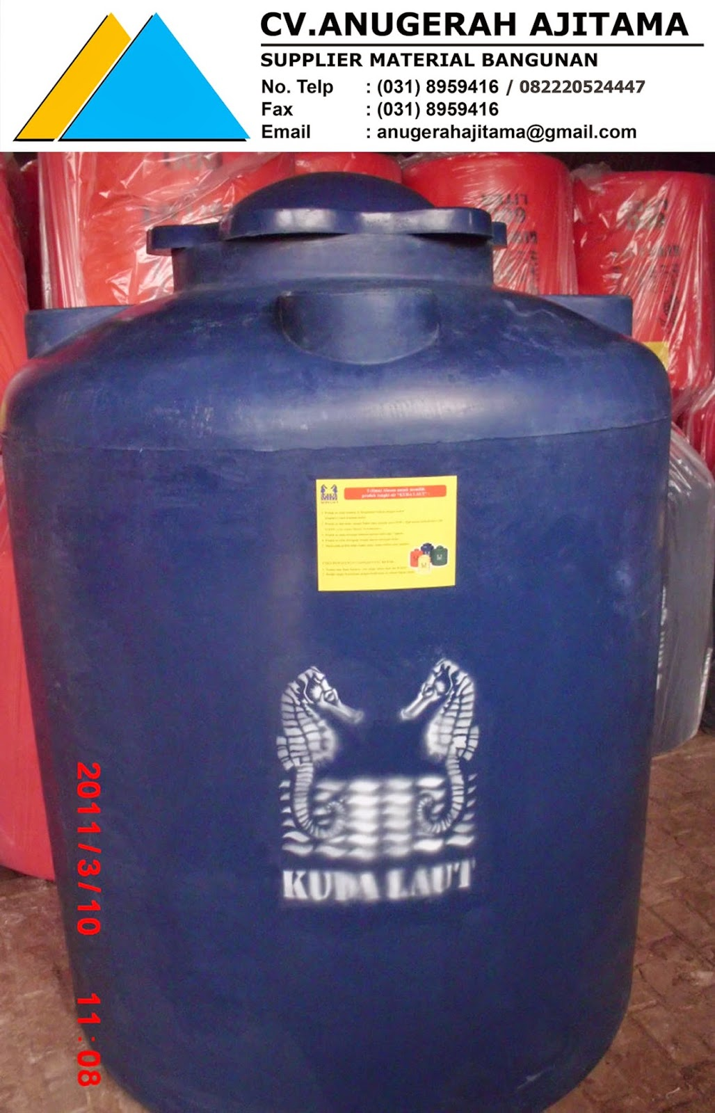 JUAL TANDON AIR KUDA LAUT