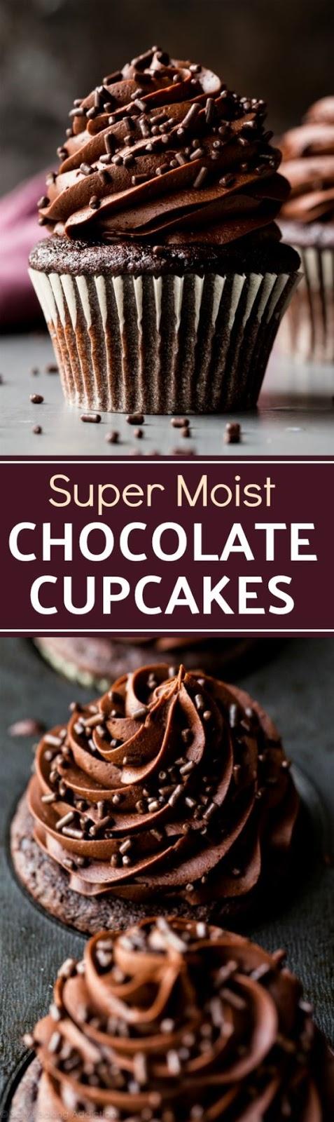 Super Moist Chocolate Cupcakese