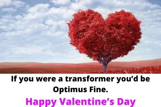 Love me tender; love me sweet. Never let me go.  Happy Valentine's Day