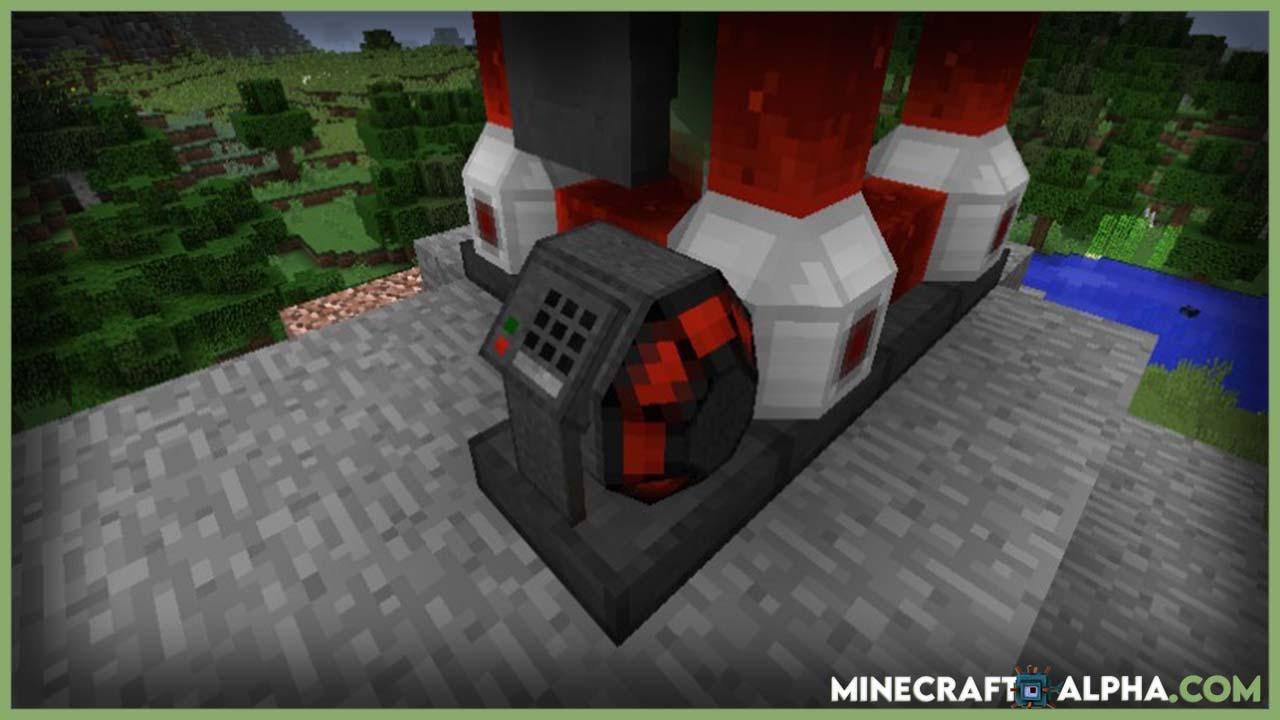 Ender-Rift Mod 1.16.5/1.15.2 (Powered Bottomless Storage System)