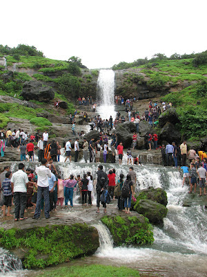 Waterfall at Bhaje village