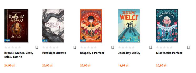 Zielona Sowa, e-booki