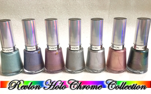 Revlon, Holo Chrome Collection, Colorstay Gel envy, Diamond Top Coat, DRK XL Designer 1, DRK Theme-SF, Fairy Dust, Amethyst Smoke, Unicornicopia, Galactic Pink, Hologasm, Molten Magic, Blushing, Black Lingerie, Alê M.
