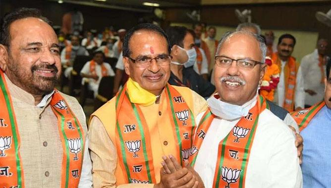 Shivraj Singh Chouhan wins confidence vote in Madhya Pradesh Opposition MLAs are absent from the House,www.thekeralatimes.com