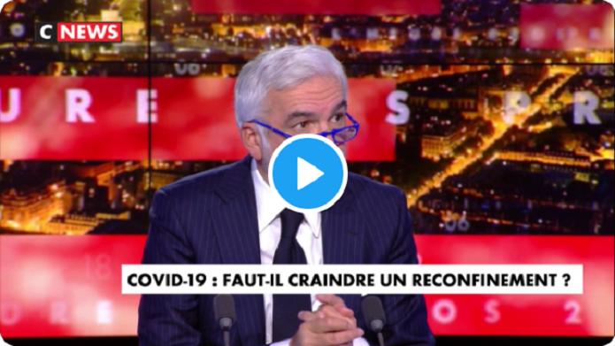 Covid-19 : «Le virus, il ne circule pas dans le RER B...!» Pascal Praud tacle le possible couvre-feu à venir