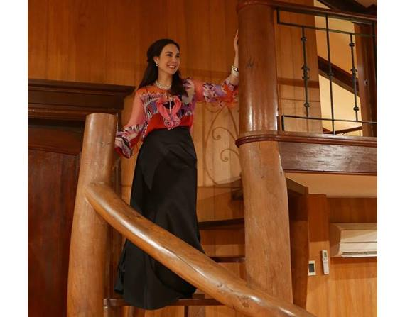 See the Stunning Photos of Gretchen Barreto's Mansion in an Exlcusive Village in Makati