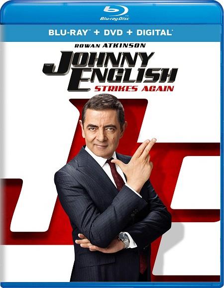 Johnny English Strikes Again 2018 720p HEVC BluRay Dual Audio Hindi – 500 MB