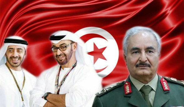 موقع المونيتور الأمريكي يكشف عن مخطّط حفتر لزعزعة الإستقرار في تونس قبل الإنتخابات و الدور الإماراتي فيه