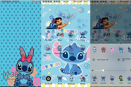 Oppo Themes Lilo Stitch Theme