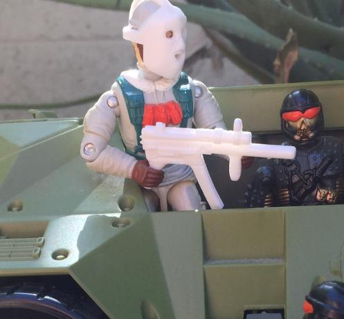 1993 Frostbite, Headhunter Stormtrooper, DEF, Battle Corps