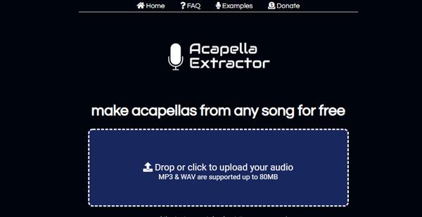 Acapella Extractor screenshot