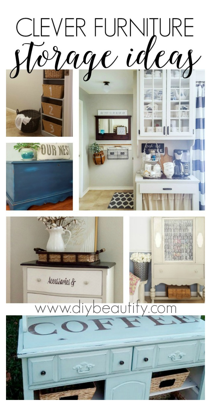 clever furniture storage ideas