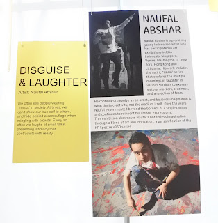 HP Spectre x360 dan karya Naufal Abshar