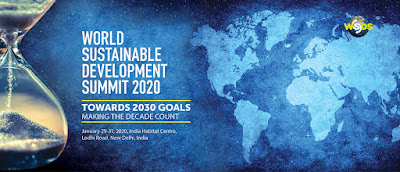 World Sustainable Development Summit (WSDS) 2020 held in New Delhi