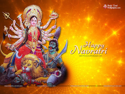 Advance Navratri Wallpaper