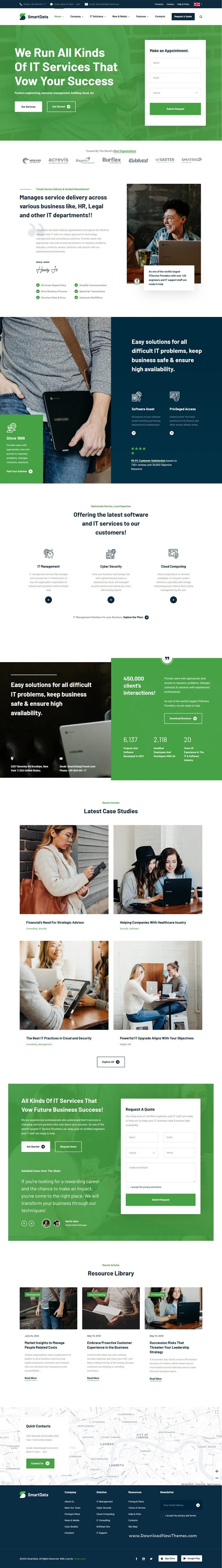 IT Solutions & Services WordPress Theme