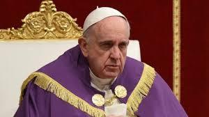 Francis, grumpy