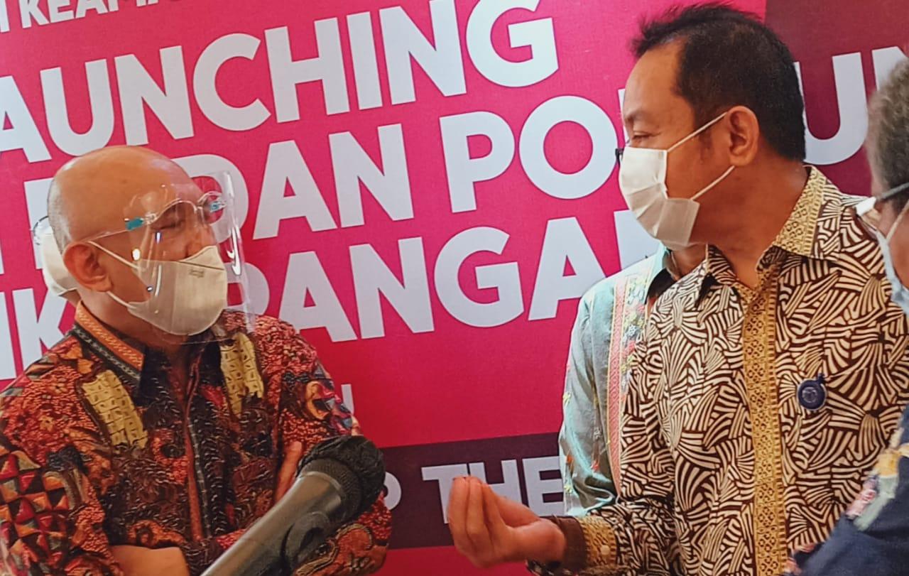 Syahnan Phalipi Hadiri Launching BPOM Dukung Produk Olahan UMKM