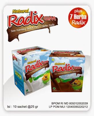 susu kambing radix