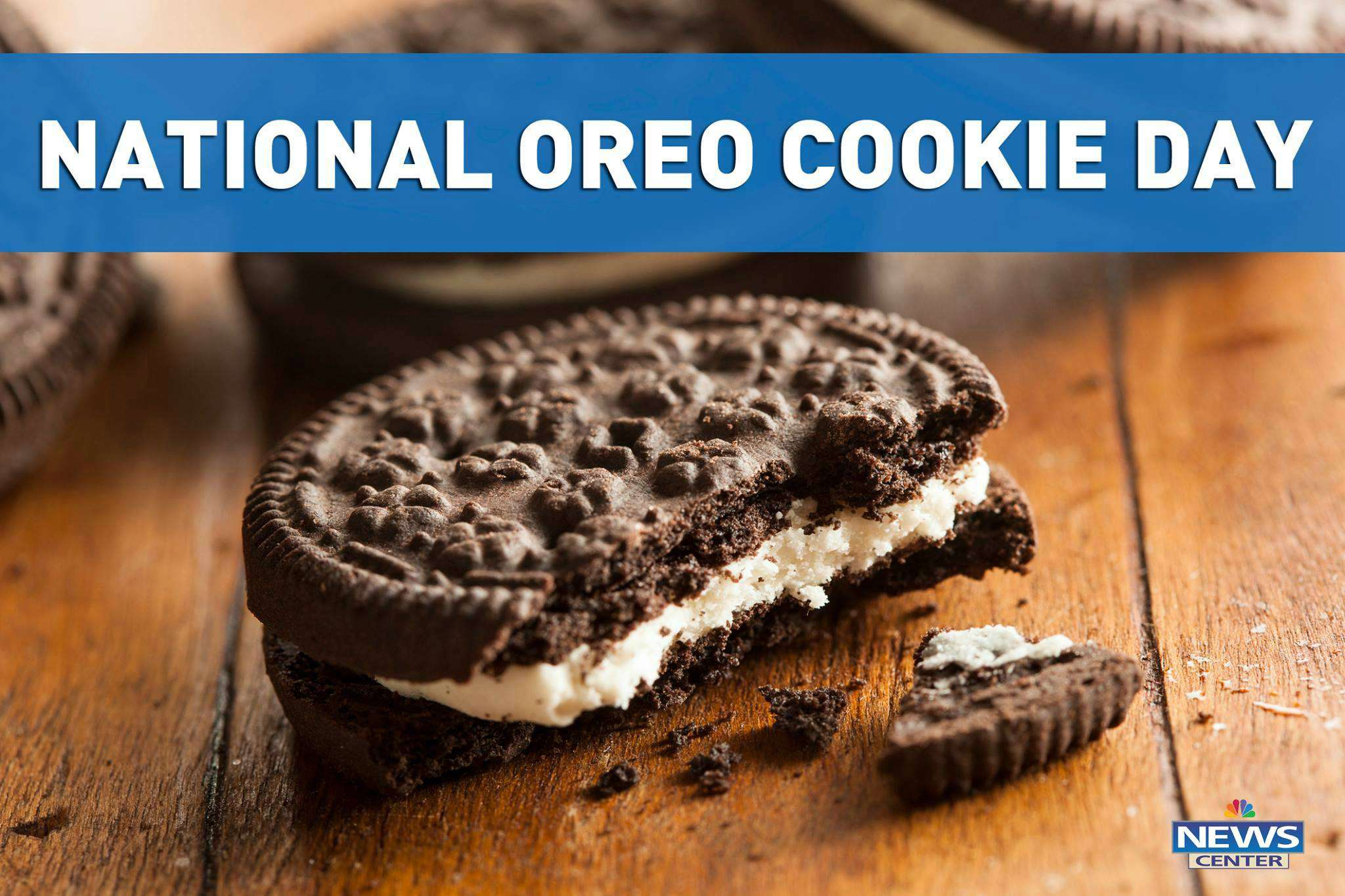 National Oreo Cookie Day Wishes Images