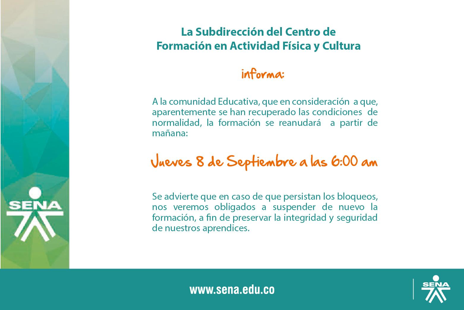 Centro de formaci n en actividad f sica y cultura anuncio for On centro de formacion