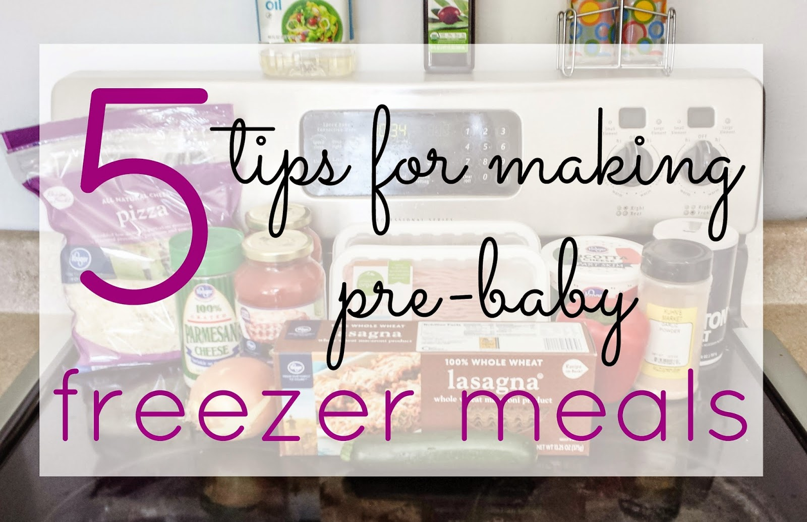 Bee Autiful Blessings 5 Tips For Making Pre Baby Freezer