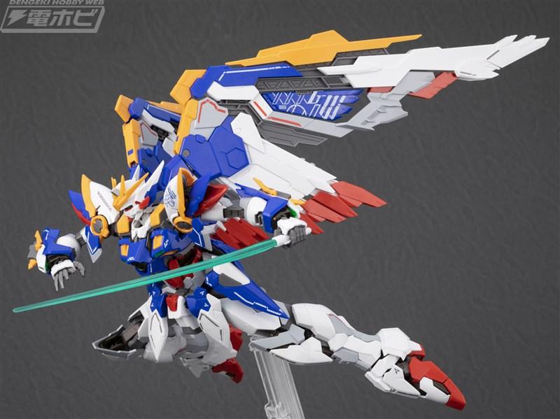 Hi-Resolution Model Wing Gundam EW Sample Images by Dengeki Hobby