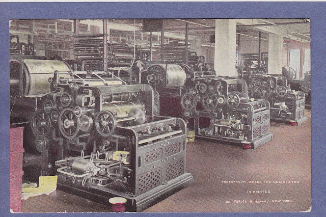 Butterick Building, Printing Presses (Image courtesy Ebay seller)