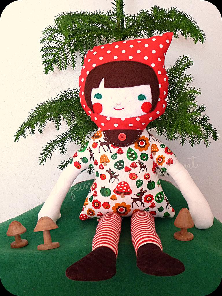 Rotkäppchen Puppe