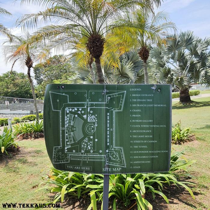 Penang Tree Fort Cornwallis
