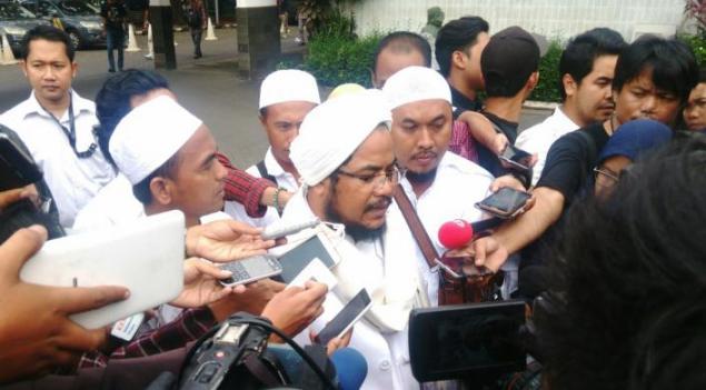 Ketua DPD FPI Kembali Dilaporkan Ahok karena Dianggap Beri Keterangan Palsu