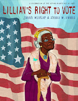 Lillian's Right to Vote by Jonah Winter book cover biography nonfiction