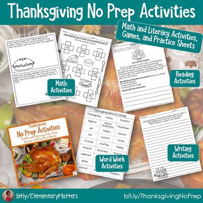 https://www.teacherspayteachers.com/Product/Thanksgiving-No-Prep-Literacy-and-Math-Activities-982540?utm_source=November%20blog%20post&utm_campaign=Thanksgiving%20no%20prep