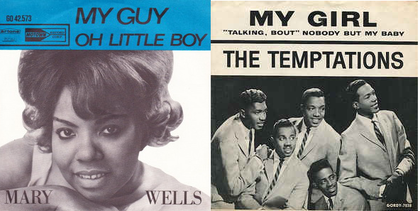 In 1964 Motown was already becoming a label that scored  1 hits regularly.  Smokey Robinson penned and produced My guy was one of them for Mary Wells  in May e0e048902eb1f