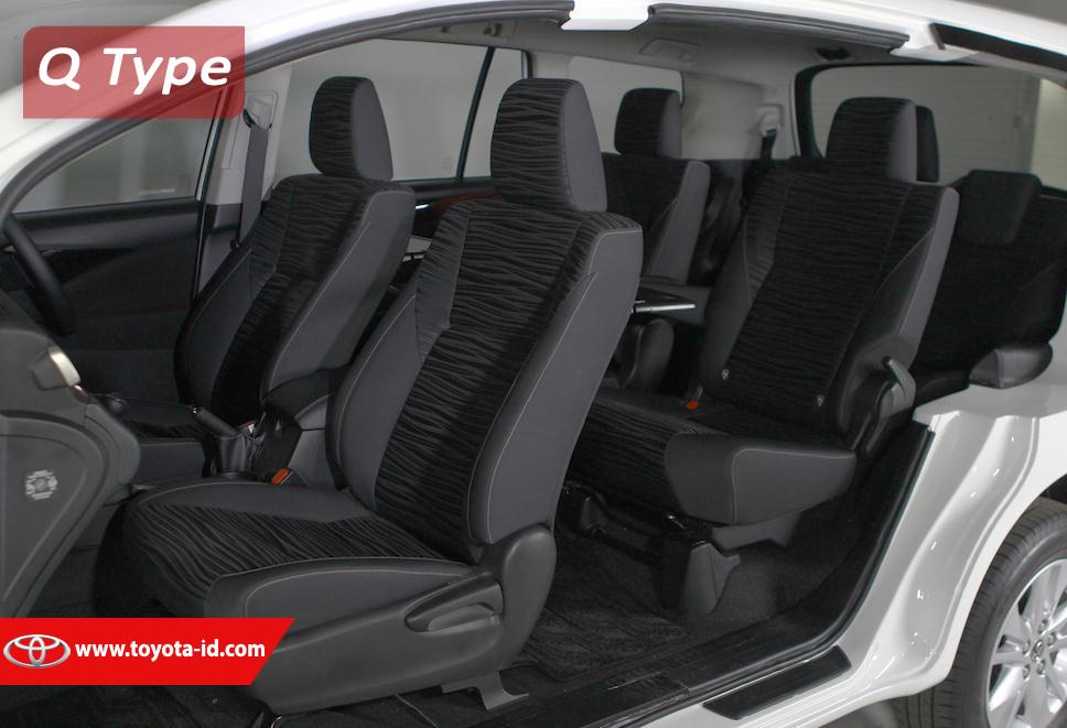Harga All New Kijang Innova Q Jok Kulit Perbedaan Type G V Dan Toyota Astra Indonesia Interior Tipe
