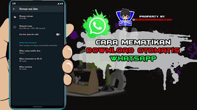Cara Menonaktifkan Unduh Otomatis di Whatsapp