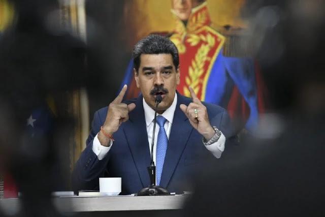 MUNDO: Recompensa por Maduro es la tercera más alta en la historia de EEUU.