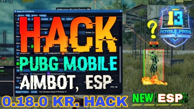 PUBG Mobile 0.18.0 Hack Script For GameGuardian || 100% Working Tested