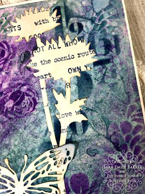 Sara Emily Barker https://sarascloset1.blogspot.com/2020/08/a-stenciled-mum-card-for-mom.html #stampersanonymous Mixed Media Card 6