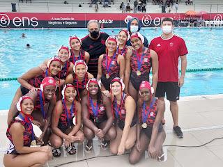 CR Flamengo Campeão do Torneio Estadual Sub-19 Feminino de Polo Aquático de 2021
