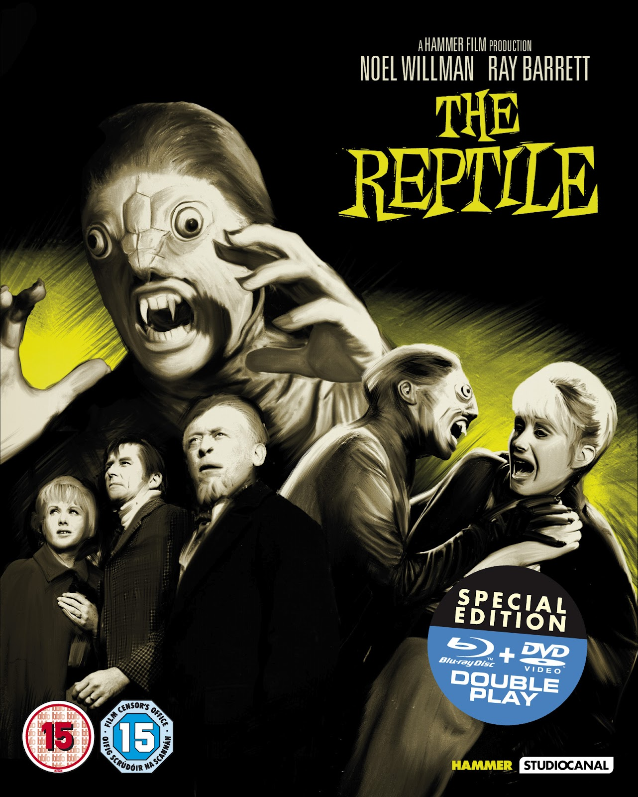 Cathode Ray Tube  BRITISH CULT CLASSICS  The Reptile   Blu-Ray Review 1460680ea