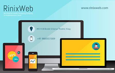 Web Design Services in Vizag|Rinixweb
