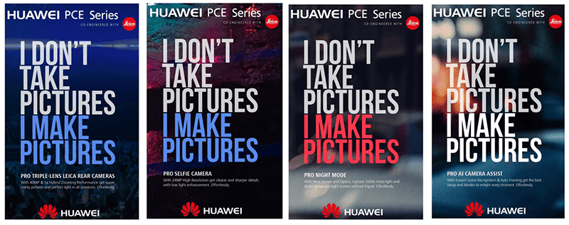 Huawei's alleged PCE Series will feature a Leica 40MP triple lens w/ 5x hybrid zoom!