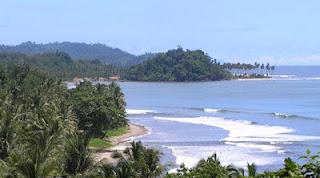 tempat wisata di lampung pantai tanjung setia